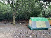 大分県平成森林公園キャンプ場